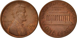Us Coins - United States, Lincoln Cent, 1970, Denver, KM:201