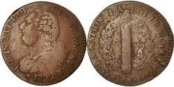 World Coins - Coin, France, Louis XVI, 6 deniers français, 6 Deniers, 1792, Strasbourg