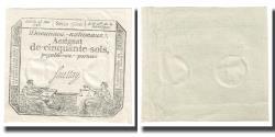 World Coins - France, 50 Sols, 1793, 1793-05-23, UNC(65-70), KM:A70a