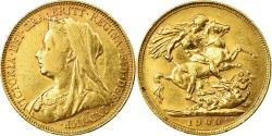 World Coins - Coin, Australia, Victoria, Sovereign, 1900, Sydney, , Gold, KM:13