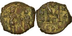 Ancient Coins - Coin, Heraclius, with Heraclius Constantine, Follis, 630-631, Constantinople