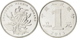 World Coins - CHINA, PEOPLE'S REPUBLIC, Edge lettering can appear in either orientation in...