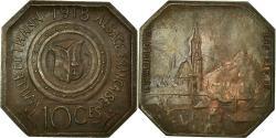 World Coins - Coin, France, Ville de thann, Alsace Française, Thann, 10 Centimes, ESSAI