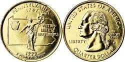Us Coins - Coin, United States, Pennsylvania, Quarter, 1999, U.S. Mint, Philadelphia