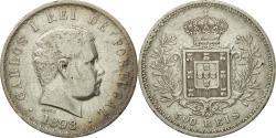 World Coins - Coin, Portugal, Carlos I, 500 Reis, 1898, , Silver, KM:535
