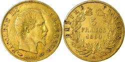 Ancient Coins - Coin, France, Napoleon III, 5 Francs, 1860, Paris, , Gold