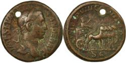 Ancient Coins - Coin, Severus Alexander, As, 229, Rome, VF(30-35), Bronze, RIC:498