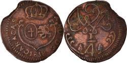 World Coins - Coin, Venezuela, CARACAS, 1/4 Réal, 1818, , Copper, KM:2