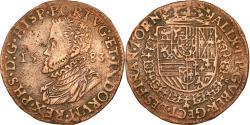 World Coins - Spanish Netherlands, Token, Philippe II, Bureau des Finances de Tournai, 1583