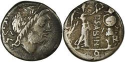 Ancient Coins - Coin, Sabina, Quinarius, Rome, , Silver, Crawford:331/1
