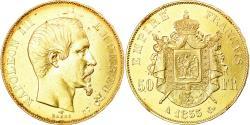 Ancient Coins - Coin, France, Napoleon III, Napoléon III, 50 Francs, 1855, Paris,