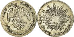 World Coins - Coin, Mexico, 8 Reales, 1875, Guanajuato, , Silver, KM:377.8