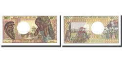World Coins - Banknote, Chad, 5000 Francs, undated (1984-91), KM:11, UNC(65-70)