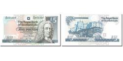 World Coins - Banknote, Scotland, 5 Pounds, 1994, 1994-03-23, KM:352b, UNC(63)