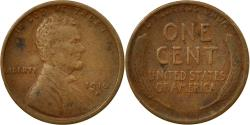 Us Coins - Coin, United States, Lincoln Cent, Cent, 1916, U.S. Mint, Denver,