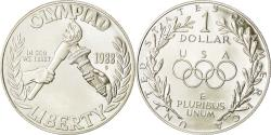 Us Coins - Coin, United States, Dollar, 1988 Olympics, , Silver, KM 222