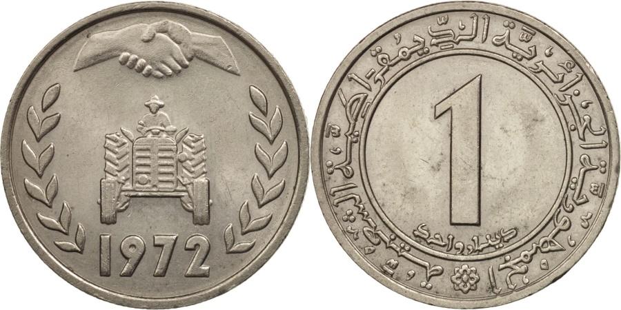 World Coins - Algeria, Dinar, 1972, , Copper-nickel, KM:104.2
