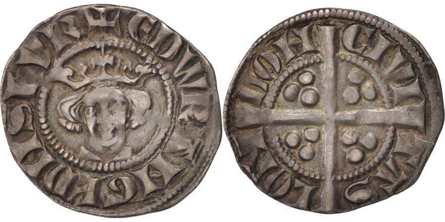 World Coins - Great Britain, Edward III, Penny, London, , Silver