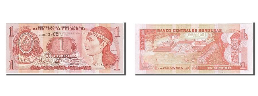 World Coins - Honduras, 1 Lempira, 1997, KM #79A, UNC(65-70), CE2573968