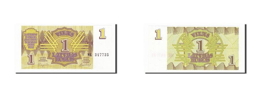 World Coins - Latvia 1 Rublis 1992 KM:35  UNC(65-70) MK347735