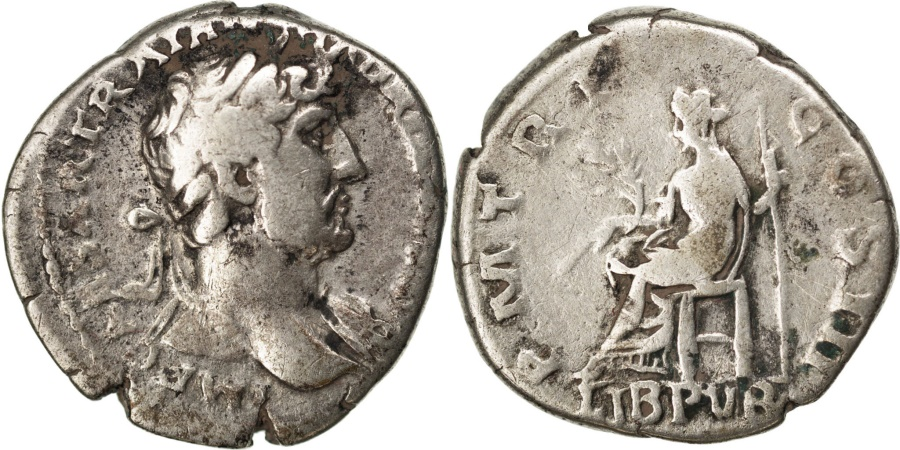 Ancient Coins - Hadrian, Denarius, , Silver, Cohen #902, 3.30