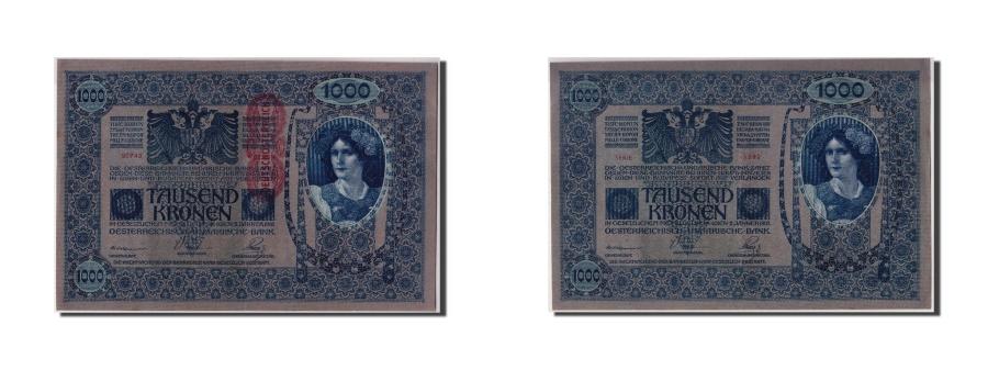 World Coins - Austria, 1000 Kronen, KM #59, AU(55-58), 90743