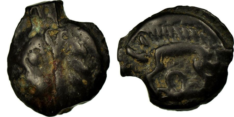 Ancient Coins - Coin, Leuci, Potin, , Potin, Delestrée:227