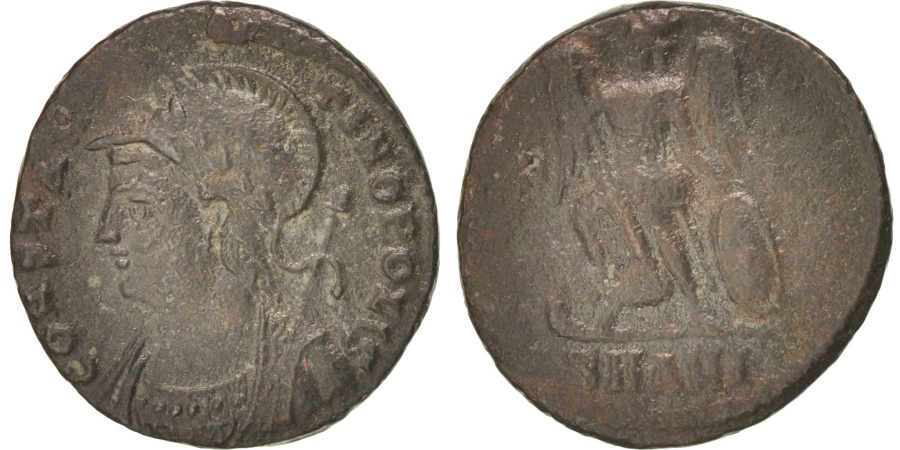 Ancient Coins - Constantinople, Nummus, Antioch, RIC 38