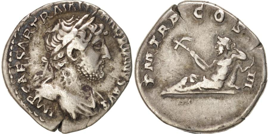 Ancient Coins - Hadrian, Denarius, , Silver, RIC #75., 3.10