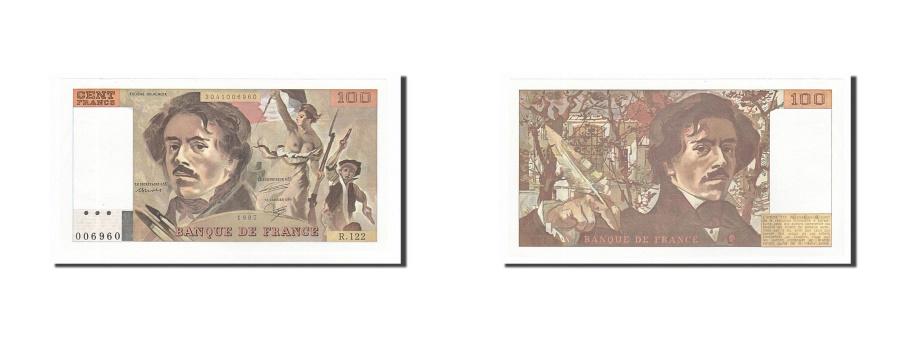 World Coins - France, 100 Francs, 100 F 1978-1995 ''Delacroix'', 1987, KM #154c, UNC(63),...