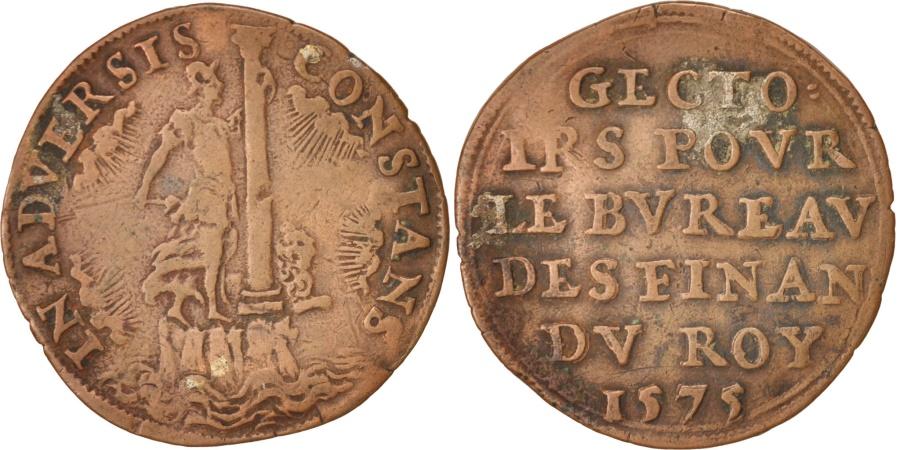 World Coins - Belgium, Token, The Stability of Belgium, 1575, , Copper, 27