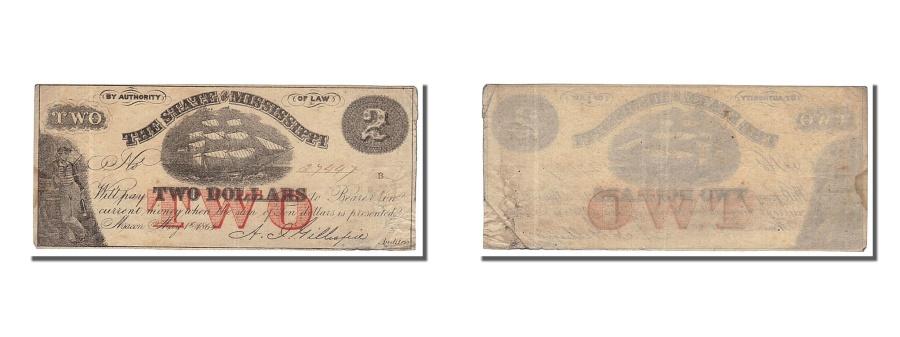 World Coins - United States, 2 Dollars, 1864, 1864-05-01, EF(40-45)