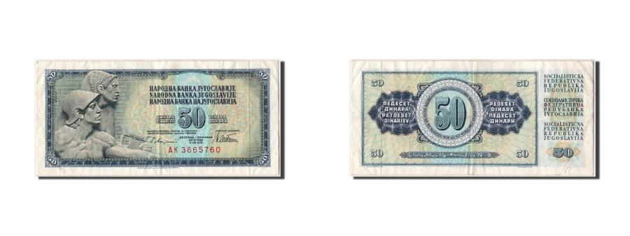 World Coins - Yugoslavia, 50 Dinara, 1978, KM #89a, 1978-08-12, EF(40-45), AK3665760