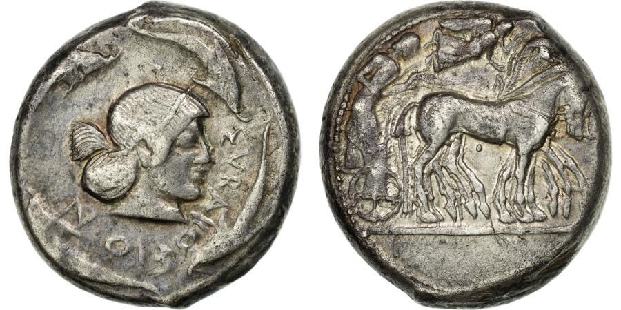 Ancient Coins - Coin, Sicily, Syracuse, Hieron I, Tetradrachm, , Silver, HGC:2-1307