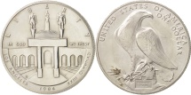 Us Coins - United States, Dollar, 1984, U.S. Mint, San Francisco, MS(63), Silver, KM:210