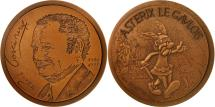 World Coins - France, Medal, Astérix le Gaulois , René Goscinny, 1979, C. Gondard