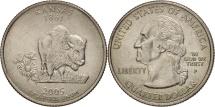 Us Coins - United States, Quarter, 2005, U.S. Mint, Philadelphia, AU(55-58), KM 373