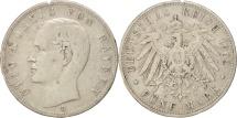 World Coins - German States, BAVARIA, Otto, 5 Mark, 1902, Munich, Silver, KM:915