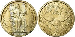 World Coins - Coin, New Caledonia, 2 Francs, 1949, Paris, ESSAI, , Nickel-Bronze