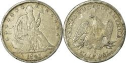 Us Coins - Coin, United States, Seated Liberty Half Dollar, Half Dollar, 1843, U.S. Mint