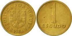 World Coins - Portugal, Escudo, 1986, , Nickel-brass, KM:614