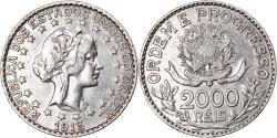 World Coins - Coin, Brazil, 2000 Reis, 1913, , Silver, KM:514