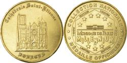World Coins - France, Token, Touristic token, Bourges - Cathédrale n°1, Arts & Culture
