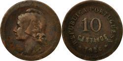 World Coins - Coin, Portugal, 10 Centavos, 1926, , Bronze, KM:573