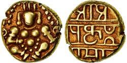 World Coins - Coin, India, Vijayanagar Empire, Tuluva Dynasty, Krishna Devaraya, 1/2 Pagoda