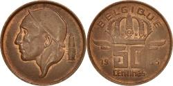 World Coins - Belgium, Baudouin I, 50 Centimes, 1965, , Bronze, KM:148.1