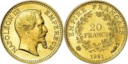 Ancient Coins - France, Medal, Mini-Napoléon, History, 1981, , Gold
