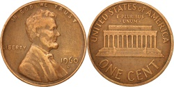 Us Coins - United States, Lincoln Cent, 1960, Denver, , KM:201