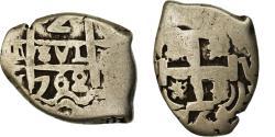 World Coins - Coin, Bolivia, Charles III, 2 Reales, 1762, Potosi, COB, , Silver