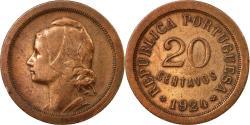 World Coins - Coin, Portugal, 20 Centavos, 1924, , Bronze, KM:574